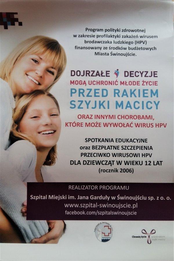 Ruszają darmowe szczepienia przeciwko wirusowi HPV