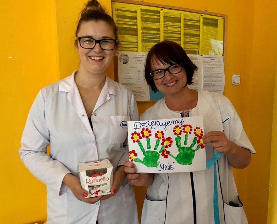 Przyjaciele Szpitala - przedszkolaki w Laboratorium