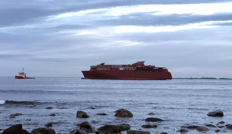 Największy na świecie prom hybrydowy ze stoczni CRIST już w Norwegii