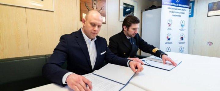Akademia Morska w Szczecinie. Zostaliśmy partnerem MEWO SA.