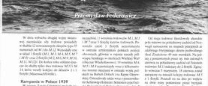 Niemieckie trałowce - służba bojowa 1939 - 1943 Przemysław Federowicz część IV
