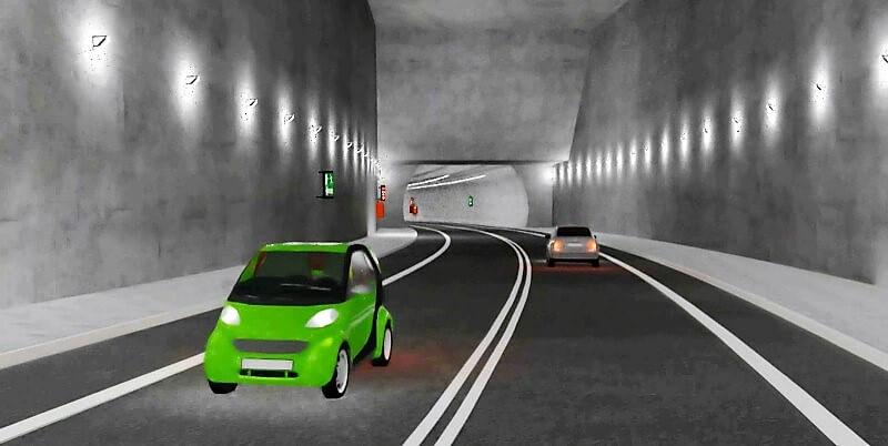 Świnoujście. Budowa tunelu.