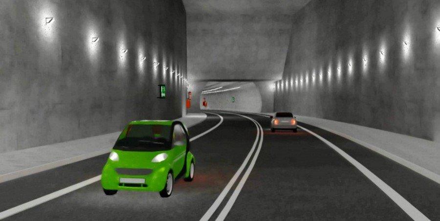 Świnoujście - tunel