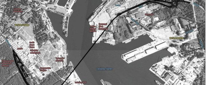 Nietypowy ładunek zmierza do portu w Świnoujściu.