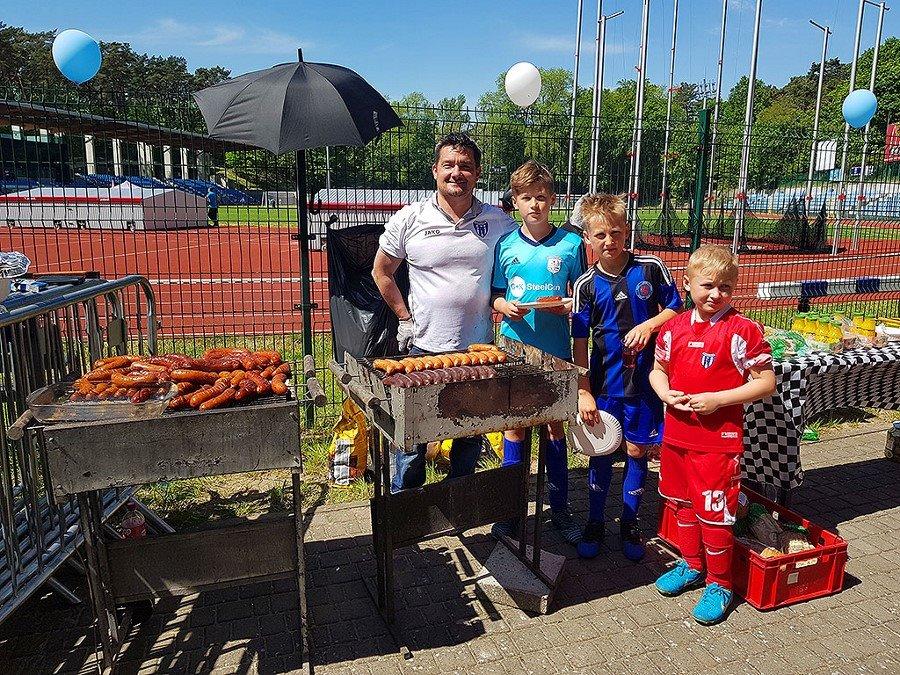 Piłkarski weekend młodych piłkarzy