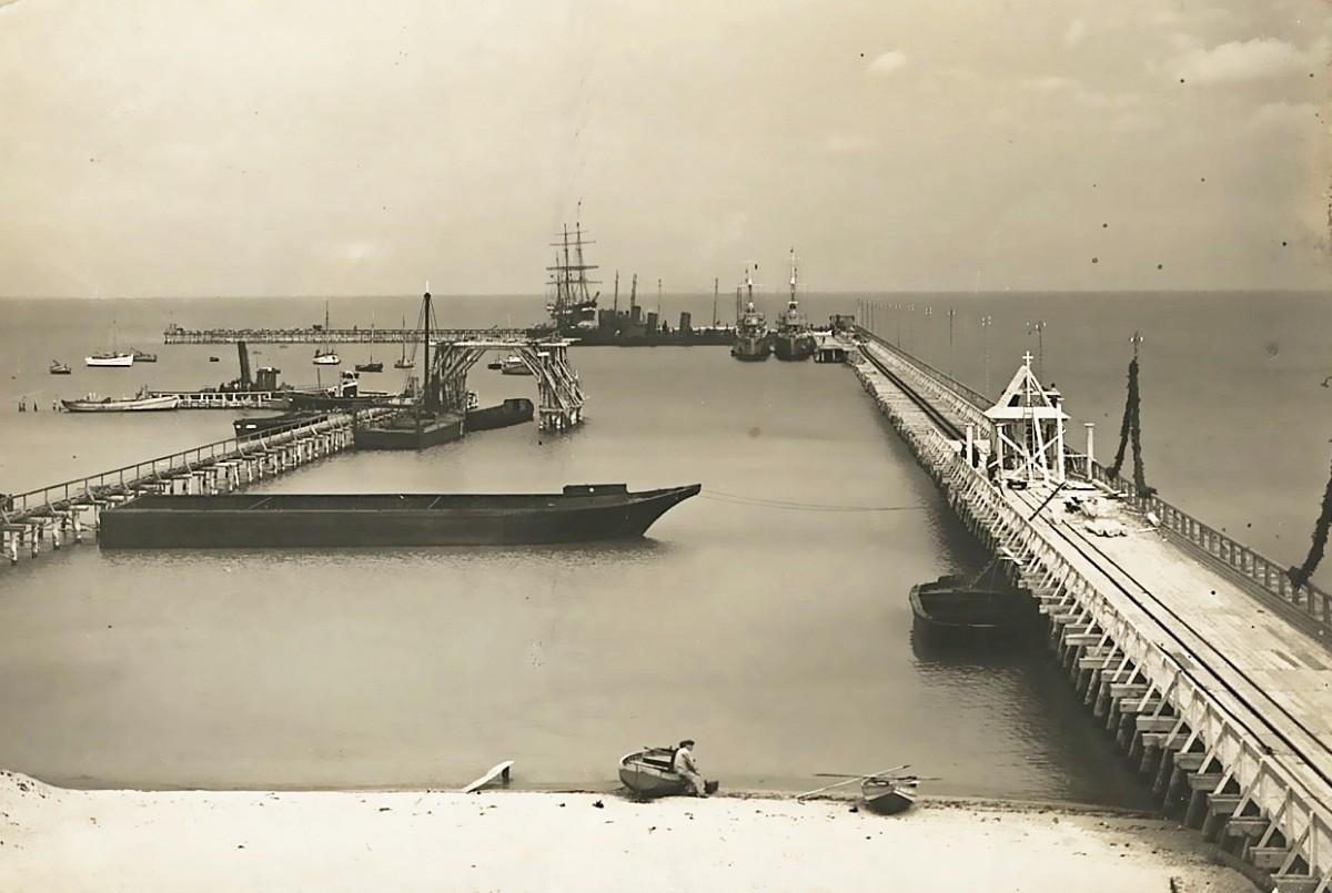 95 lat temu w Gdyni otwarty został Tymczasowy Port Wojenny i Schronisko dla Rybaków