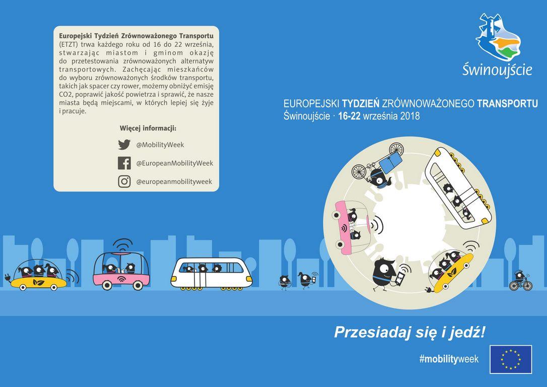 Europejski Tydzień Zrównoważonego Transportu w Świnoujściu