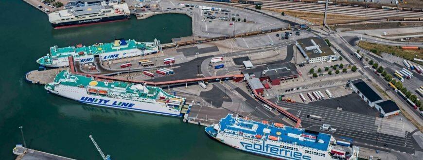 Port w Ystad z rekordem