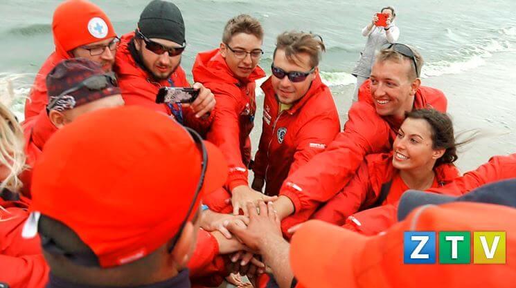 Podziękowania dla świnoujskich ratowników morskich