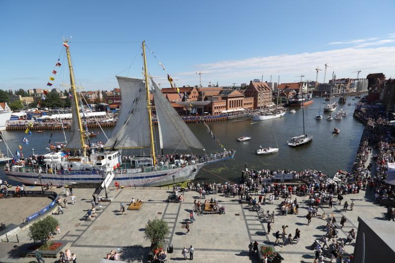 Parada żaglowców na zakończenie Baltic Sail 2018 (wideo)
