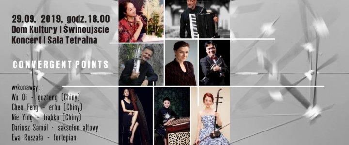 Świnoujście. Koncertowa niedziela, europejski Jazz, chińska tradycja, muzycy i instrumenty.
