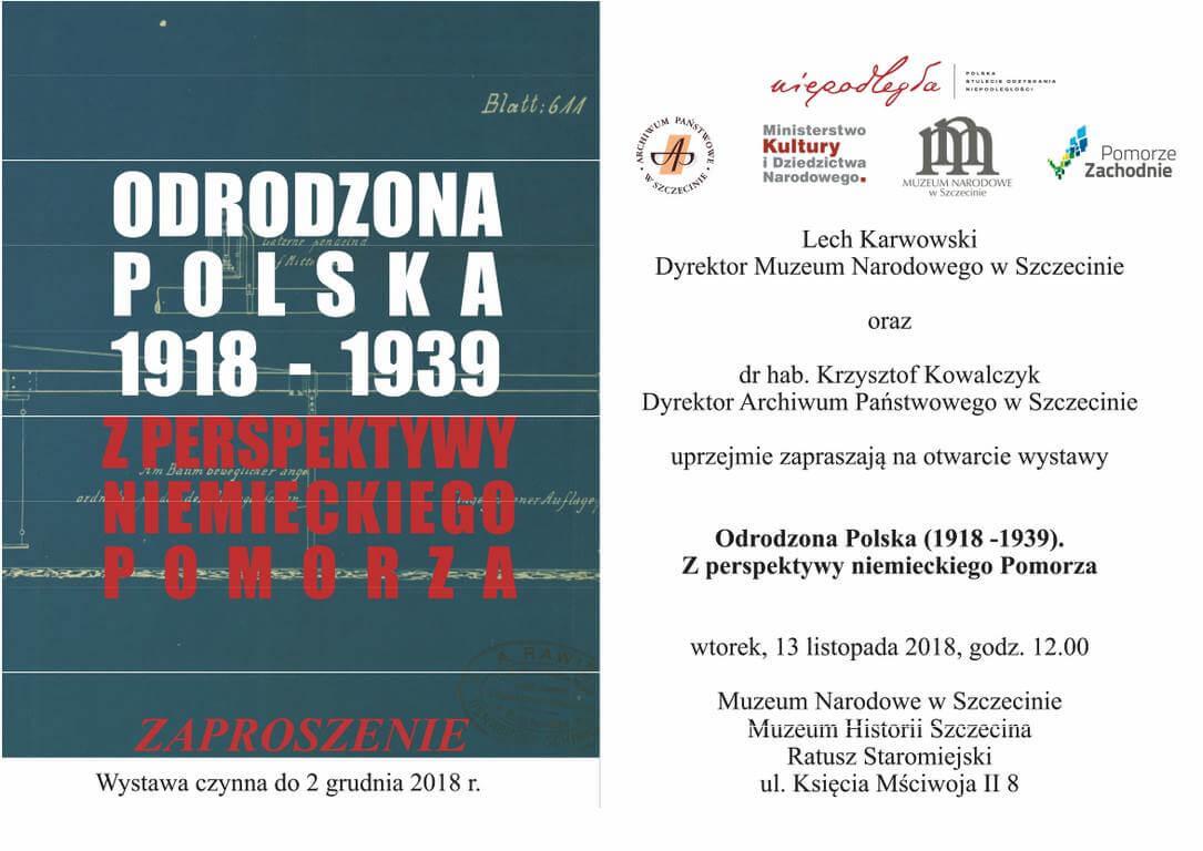 Odrodzona Polska (1918-1939) zperspektywy niemieckiego Pomorza