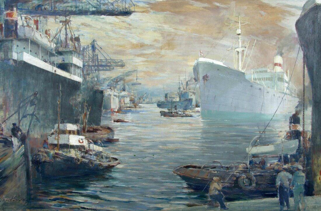 Zdarzyło się na morzu… Obrazy pozyskane z Polskich Linii Oceanicznych