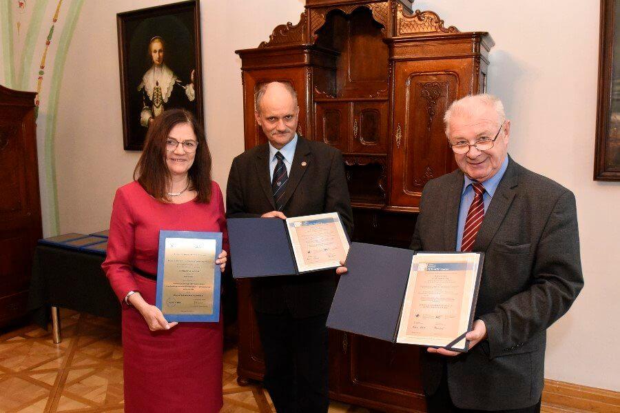 Wydział Budownictwa i Architektury Zachodniopomorskiego Uniwersytetu Technologicznego w Szczecinie z europejskim certyfikatem.