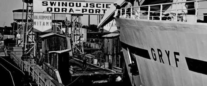 70 lat żeglugi promowej ze Świnoujścia przez Bałtyk