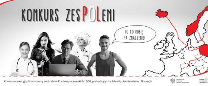 """Informacja na temat bezpłatnego konkursu edukacyjnego """"zesPOLeni"""""""