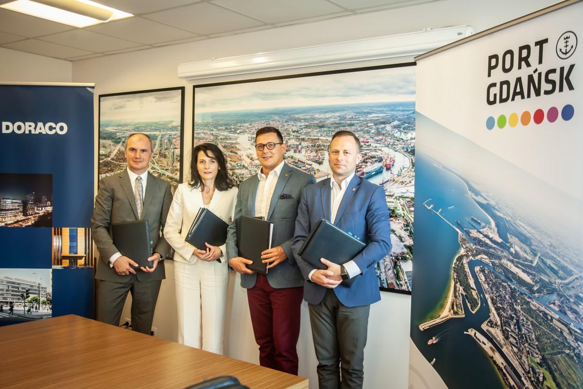 Kolejne umowy na inwestycje w Porcie Gdańsk
