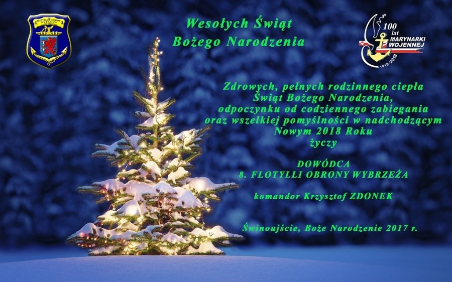 Życzenia Świąteczno-Noworoczne 8.FOW