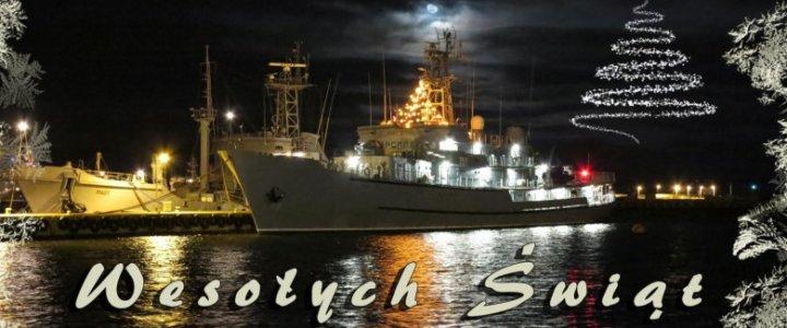 Część marynarzy spędzi święta na środku oceanu.
