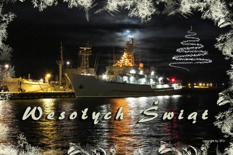 Część marynarzy spędzi święta na środku oceanu